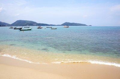 Snorkelling beach in Phuket