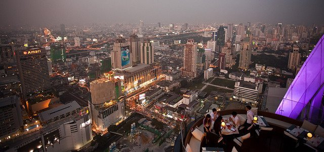 11 of the Best Rooftop Bars in Bangkok
