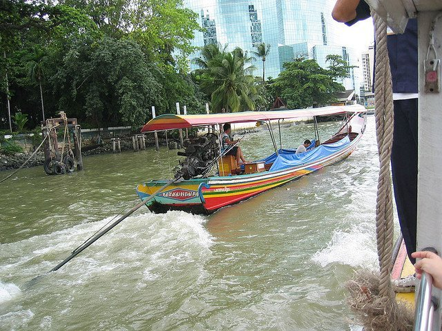 Exploring the Chao Phraya River in Bangkok