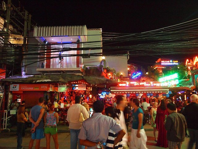 Nightlife in Phuket - Patong Beach
