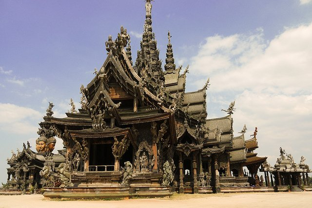 Things to Do In Pattaya - Sanctuary of Truth