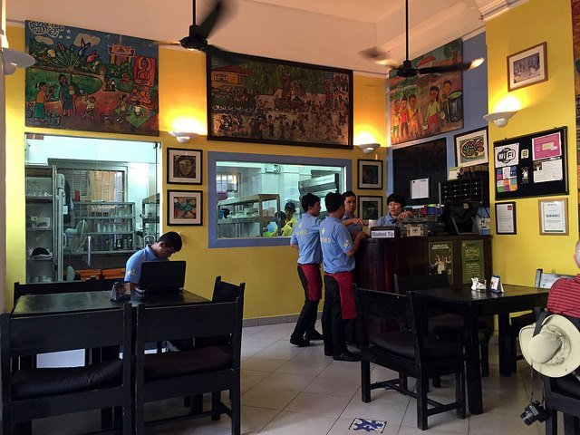 Restaurants in Phnom Penh