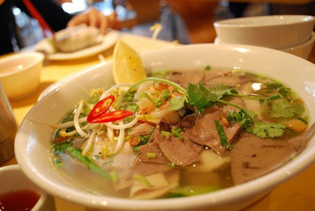 Noodle Soup in Phnom Penh