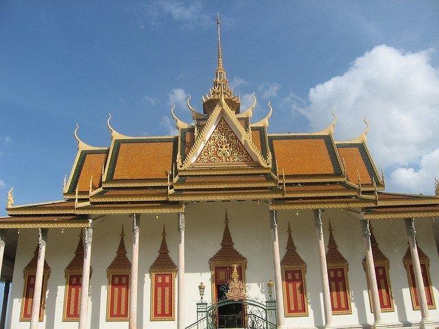 Wat in Phnom Penh