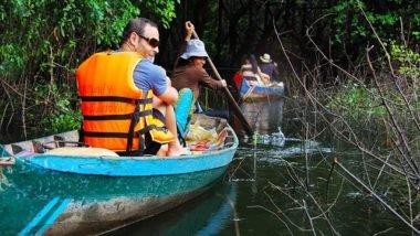 Siem Reap canoe